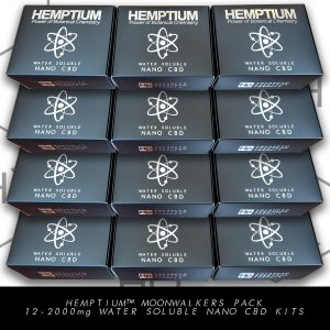 hemptium water soluble nano cbd therapeutic moonwalkers pack
