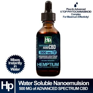 hemptium water soluble advanced spectrum cbd 500 mg phytocannabinoid